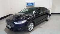 2016 FORD MONDEO 2.0 TITANIUM TDCI 5d AUTO 177 BHP SAT-NAV, X PACK, HEATED LEATHER £11277.00