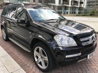 2011 MERCEDES-BENZ GL CLASS 3.0 GL350 CDI BLUEEFFICIENCY 5d AUTO 265 BHP £11990.00