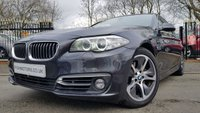 2014 BMW 5 SERIES 2.0 525D LUXURY 4d AUTO 215BHP £11490.00