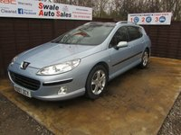 USED 2007 07 PEUGEOT 407 2.0 SW SE HDI 5d 135 BHP FINANCE AVAILABLE FROM £19 PER WEEK OVER TWO YEARS - SEE FINANCE LINK FOR DETAILS