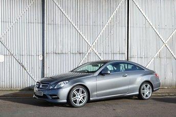 2012 MERCEDES-BENZ E CLASS 3.0 E350 CDI BLUEEFFICIENCY SPORT 2d AUTO 265 BHP £11990.00