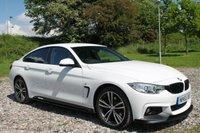 2015 BMW 4 SERIES 2.0 420D XDRIVE M SPORT GRAN COUPE 4d AUTO 188 BHP £21500.00