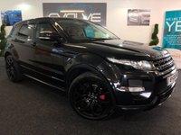2013 LAND ROVER RANGE ROVER EVOQUE 2.2 SD4 DYNAMIC LUX 5d AUTO 190 BHP £SOLD