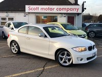 2013 BMW 1 SERIES 2.0 118D Exclusive Edition Coupe Diesel