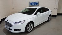 "USED 2016 16 FORD MONDEO 2.0 TITANIUM TDCI 5d AUTO 177 BHP 1 Owner/X PACK/Sat-Nav/18""Alloys/Heated Leather/Cruise"