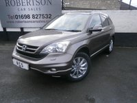 USED 2010 10 HONDA CR-V 2.0 I-VTEC EX 5dr WELL MAINTAINED HIGH SPEC 4X4