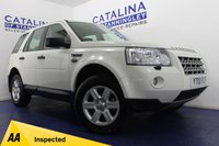 USED 2010 10 LAND ROVER FREELANDER 2.2 TD4 E GS 5d 159 BHP 8 SERVICE STAMPS - LOW MILES - ONLY 2 OWNERS - BLUETOOTH - DUAL ZONE CLIMATE CONTROL WITH AIR CON - BEAUTIFUL CAR