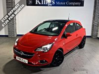 USED 2015 15 VAUXHALL CORSA 1.4 SRI ECOFLEX S/S 3dr  New Shape, £30 Tax, Low Ins Band, Gloss Black Alloys & Roof