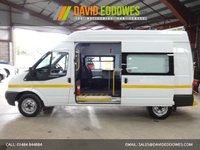 """USED 2013 13 FORD TRANSIT 2.2 350 H/R 125 BHP WELFARE / MESS VAN WITH TOILET """"YOU'RE IN SAFE HANDS"""" - AA DEALER PROMISE"""