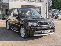USED 2012 62 LAND ROVER RANGE ROVER SPORT 3.0 SDV6 HSE 5d AUTO 255 BHP FACTORY AUTOBIOGRAPHY FITTED KIT