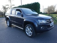USED 2016 66 VOLKSWAGEN AMAROK HIGHLINE 4MOTION AUTO DOUBLE CAB PICK UP 2.0TDI 180 BHP Top Of Range Automatic  With Every Extra Including Glazed Hard Top & Tow Pack, Direct From Leasing Company First Class Example!