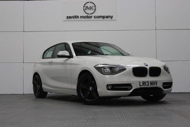 2013 13 BMW 1 SERIES 2.0 116D SPORT 3d AUTO 114 BHP