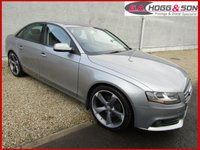 2019 AUDI A4 2.0 TDI SE TECHNIK 4dr 136 BHP **LOCAL OWNER VEHICLE** £SOLD