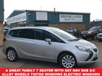 USED 2015 VAUXHALL ZAFIRA TOURER 2.0 TECH LINE CDTI 7 Seater Sat nav Bluetooth 2 keys front & rear parking sensors A Great Family 7 Seater with SAT NAV DAB Air Con Alloy WheelsTinted Windows,Electric Windows And So Much More...