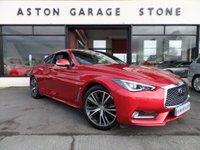 USED 2016 66 INFINITI Q60 2.0 PREMIUM TECH 2d AUTO 208 BHP **BOSE * CAMS * LEATHER** ** SUNROOF * F/S/H **