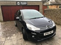 2014 CITROEN C3 1.6 E-HDI AIRDREAM EXCLUSIVE 5d 91 BHP £SOLD