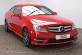 USED 2013 02 MERCEDES-BENZ C CLASS 2.1 C220 CDI BLUEEFFICIENCY AMG SPORT PLUS 2DR AUTO 168 BHP FULL SERVICE HISTORY FULL SERVICE HISTORY + HEATED HALF LEATHER SEATS + SATELLITE NAVIGATION + PARKING SENSOR + BLUETOOTH + CRUISE CONTROL + CLIMATE CONTROL + MULTI FUNCTION WHEEL + XENON HEADLIGHTS + PRIVACY GLASS + ELECTRIC WINDOWS + 17 INCH ALLOY WHEELS