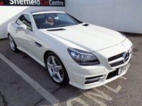 USED 2012 12 MERCEDES-BENZ SLK 1.8 SLK200 BLUEEFFICIENCY AMG SPORT 2d AUTO 184 BHP £260 A MONTH FULL RED LEATHER INTERIOR AIR CON CRUISE CONTROL DAB RADIO BLUE TOOTH HEATED WINDSCREEN ALLOYS