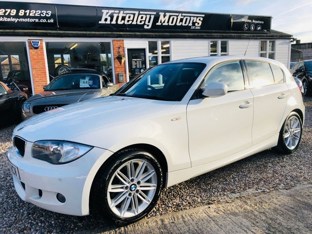 2011 11 BMW 1 SERIES 123D M SPORT 5 Door Manual 201bhp