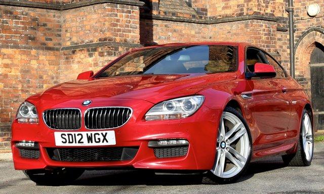 2012 BMW 6 SERIES 3.0 640D M SPORT 2d AUTO 309 BHP
