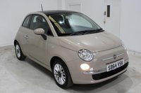 2014 FIAT 500 1.2 LOUNGE 3d 69 BHP £5295.00
