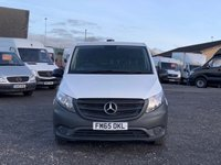 USED 2016 65 MERCEDES-BENZ VITO 1.6 111 CDI AC FACELIFT LONG LWB AC, LWB, FACELIFT, SAT NAV, ONE OWNER, FDSH, PLY LINED