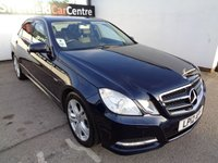 USED 2012 12 MERCEDES-BENZ E CLASS 2.1 E220 CDI BLUEEFFICIENCY EXECUTIVE SE 4d AUTO 170 BHP £218 A MONTH FULL BLACK LEATHER CLIMATE CONTROL CRUISE CONTROL BLUETOOTH SAT NAV HEATED SEATS PRIVACY GLASS ALLOYS PARKING SENSORS