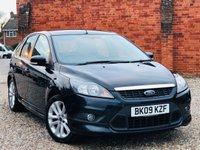 USED 2009 09 FORD FOCUS 1.8 ZETEC S 5 Door 125 BHP