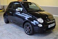 USED 2012 62 FIAT 500 1.2 STREET 3d 69 BHP Metallic black, low mileage 2012 Fiat 500 Street 1.2
