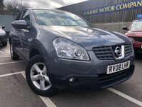 USED 2008 08 NISSAN QASHQAI 1.6 ACENTA 5d 113 BHP FULL MAIN DEALER  WITH SERVICE HISTORY