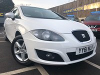 USED 2012 61 SEAT LEON 1.2 TSI S COPA 5d 103 BHP ONLY ONE PREVIOUS OWNER FROM NEW