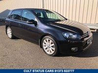USED 2012 12 VOLKSWAGEN GOLF 2.0 GT TDI 5d 138 BHP WITH HEATED LEATHER  2 OWNERS, FSH, HEATED LEATHER, RAC WARRANTY