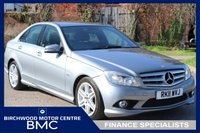 2011 MERCEDES-BENZ C CLASS 2.1 C220 CDI BLUEEFFICIENCY SPORT 4d AUTO 170 BHP £9495.00