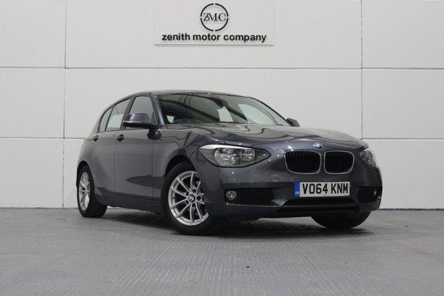 2014 64 BMW 1 SERIES 1.6 116D EFFICIENTDYNAMICS BUSINESS 5d 114 BHP
