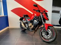 USED 2017 17 HONDA CB500  FA-H 47 BHP***IDEAL 1ST BIG BIKE***