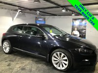 USED 2012 61 VOLKSWAGEN SCIROCCO 2.0 GT TDI BLUEMOTION TECHNOLOGY 2d 140 BHP Only £30 a year road tax        :        Full leather upholstery        :       Heated front seats      :   VW Comfort/Sport mode    :    Comprehensive service history