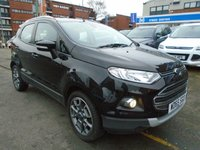 USED 2015 65 FORD ECOSPORT 1.5 TITANIUM TDCI 5d 94 BHP GREAT FINANCE DEALS AVAILABLE