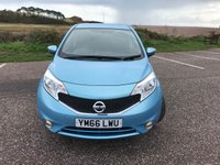2017 NISSAN NOTE 1.2 ACENTA 5d 80 BHP £9750.00