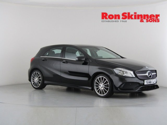 View our 2016 66 MERCEDES-BENZ A-CLASS 1.5 A 180 D AMG LINE 5d 107 BHP