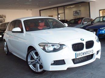 2012 BMW 1 SERIES 2.0 118D M SPORT 5d 141 BHP £8490.00