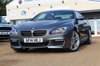 2014 BMW 6 SERIES 3.0 640D M SPORT 2d 309 BHP £22950.00