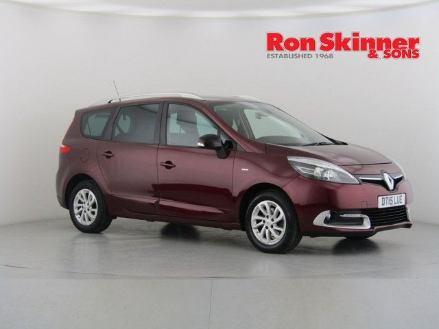 View our 2015 15 RENAULT GRAND SCENIC 1.5 LIMITED NAV DCI 5d 110 BHP