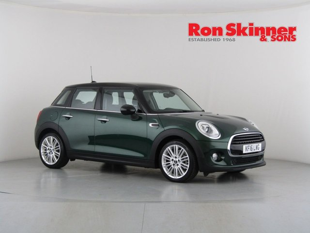 View our 2016 16 MINI HATCH COOPER 1.5 COOPER D 5d 114 BHP with CHILI Pack + Media Pack