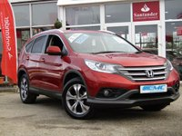 "USED 2015 64 HONDA CR-V 1.6 I-DTEC SR 5d 118 BHP STUNNING, 1 OWNER, HONDA CR-V 1.6  I-DTEC SR 118 BHP, 4X2. Finished in PASSION RED METALIC with Black heated LEATHER/ALCANTARA interior. The CR-V is a 5 seater SUV that is robust, practical and packed with equipment. Features in this popular car include DAB, Rear View Camera, Park sensors, Cruise, B/Tooth and 18"" Alloys."