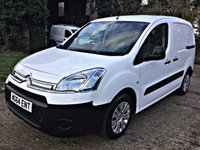 USED 2014 64 CITROEN BERLINGO 1.6 625 ENTERPRISE L1 HDI  LOW MILES, HIGH SPEC, 3 SEATS,