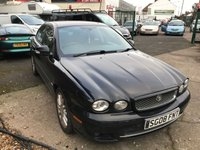 USED 2008 08 JAGUAR X-TYPE 2.2 S 4d 152 BHP 10 SERVICES-MOT TILL FEB 2020-LEATHER-6 SPEED-DRIVES VERY WELL