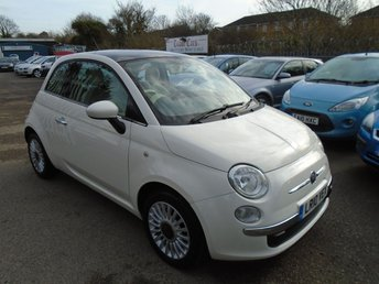 2010 FIAT 500 1.2 LOUNGE 3d 69 BHP £3995.00