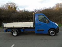 USED 2014 14 RENAULT MASTER 2.3DCI 125BHP ML35 MWB DROPSIDE TIPPER  +TIPPER+ 1 OWNER+