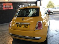 USED 2013 63 FIAT 500 1.2 LOUNGE 3d 69 BHP