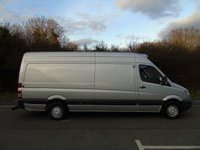 USED 2012 62 MERCEDES-BENZ SPRINTER 2.1 313 CDI 129 BHP LWB HIGH ROOF FRIDGE/CHILLER VAN OVERNIGHT STANDBY+NO VAT